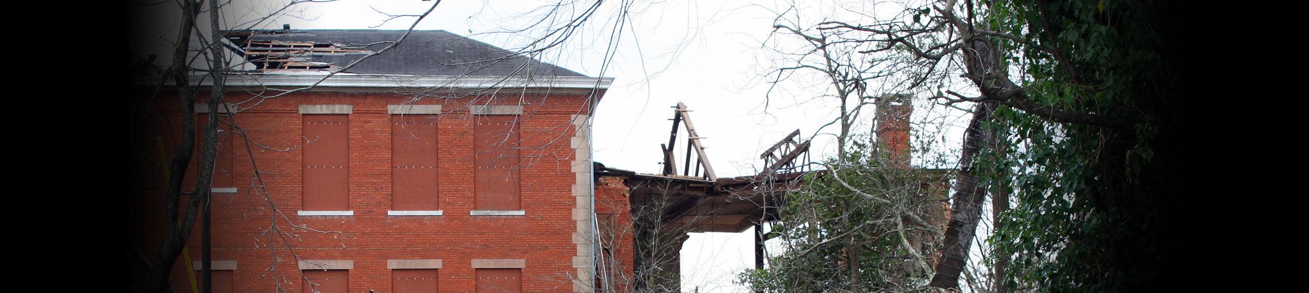 Wind & Storm Damage Repairs in Paul Davis Restoration & Remodeling of Mid Michigan